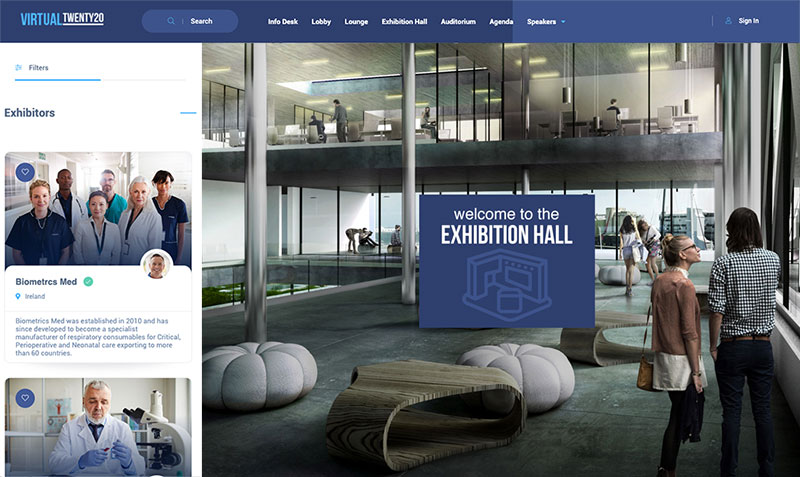 Xibitrs virtual exhibitors