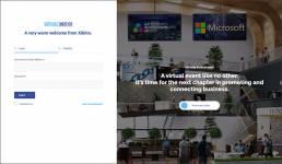 Virtual event platform registration